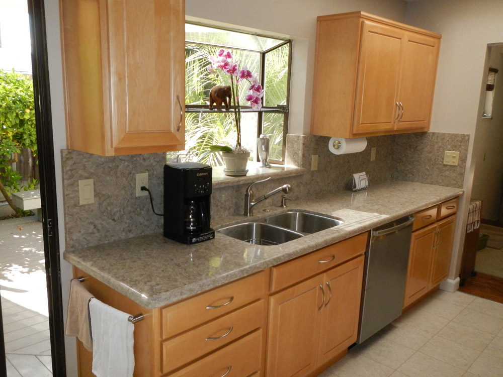 Small galley kitchen remodel home design and decor reviews for Tiny kitchen remodel